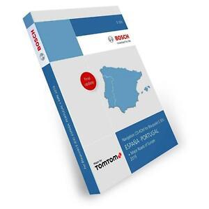 Blaupunkt Tele Atlas TomTom Spanien Portugal TravelPilot E EX 2019 2 CD Major Ro