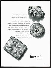1960 Vintage Tiffany Co. Jewelers Jean Schlumberger Jewelry Box Photo Print Ad