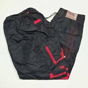 VTG CAFFEINE 007 Wide Leg 90s Raver Skate Goth Pants Kikwear Techno JNCO Macgear