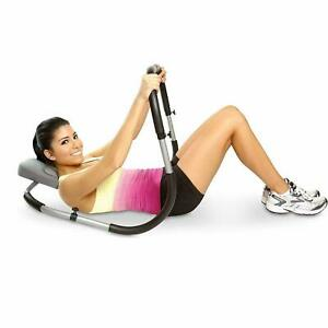 Abs Fitness Crunch Roller Abdominal Exercise Workout Machine Home Gym Trainer