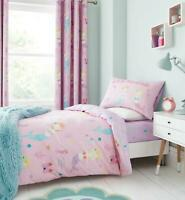 Catherine Lansfield Mermaid Duvet Cover Bedding Bed Set or Accessories Teal