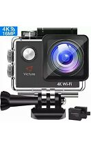 NEW!! VICTURE 4K WIFI DIGITAL ACTION SPORTS VIDEO CAMERA 16MP ULTRA HD
