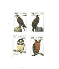 VINTAGE CLASSICS - MALDIVES 9627 - Birds set of 4 Stamps - MNH