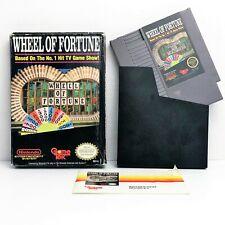 Wheel of Fortune (Nintendo Entertainment System, 1987) CIB NES