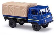 Busch 50215 Robur lo 2002a Plataforma THW Vehículo de Emergencia 1:87 Nuevo