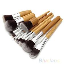 Kit De 11 Piezas Brochas De Maquillaje Uso Profesional Personal Manilla Lujoso