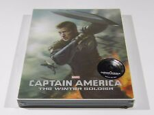 Captain America The Winter Soldier (3D+2D) Blu-ray Steelbook Novamedia #240/500