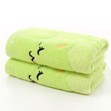 Fashion 25x50CM Home Towel Bamboo Fiber Cotton Strong Water Absorbing Shower