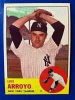 1963 Topps HIGH #569 LUIS ARROYO