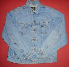 LEE Riders 1970s Sanforized - Men's Light Blue Vintage Denim Jean Jacket   -V40