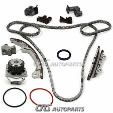 Fits 2001-04 Nissan / Infiniti 3.5L VQ35DE Timing Chain Kit + Water Pump Set