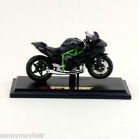 Maisto 1/18 Kawasaki Ninja H2R Motorcycle Moto W/Base Diecast Model Car Toy Gift