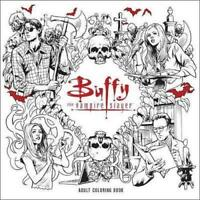 NEW Buffy The Vampire Slayer Adult Coloring Book By  Fox Paperback Free Shipping
