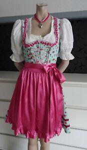 Dirndl German Austrian Authentic Dress Blouse Apron 6