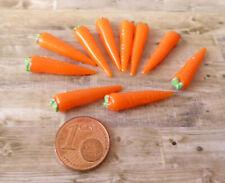Puppenstuben & -häuser 1:12 Küchenset 4 3-teilig orange für die Puppenstube