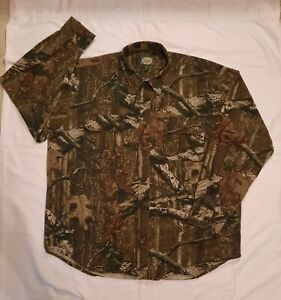 Cabela's Break-Up Infinity Camo Shirt Camouflage Long Sleeve XL