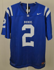 Nike Duke University DU Blue Devils  2 Football Jersey Youth Medium (12 14 cd5334749