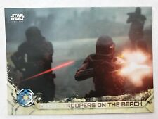 2017 Topps Star Wars Rogue One Series 2 #81 Death Troopers on the Beach