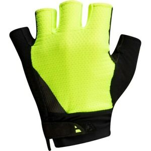 PEARL iZUMi Men's Bicycle Cycle Bike Elite Gel Gloves Screaming Yellow