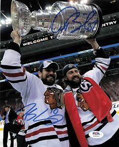 Patrick Sharp signed 8x10 photo PSA/DNA Chicago Blackhawks Autographed