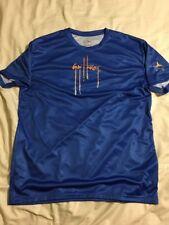 NWOT Guy Harvey Mens Large Blue Moisture Resistant Short Sleeve Shirt