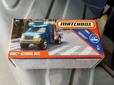 Matchbox 2018 MBX Service GMC School Bus Travel power grab