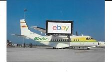 BINTER MEDITERRANEO SPAIN CASA CN-235-100 #EC-012 POSTCARD