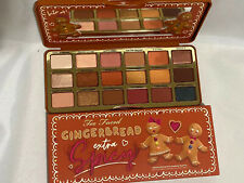 Too Faced Gingerbread Extra Spicy Palette 18 Shade Limited Edition $49 Retail