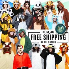 Adult Onesies Animal Jumpsuit over 100 designs Costume Shipped from Sydney
