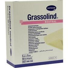 GRASSOLIND Salbenkompressen 5x5 cm steril 50 St