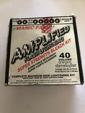 Manic Panic Flash Lightning Hair Bleach Kit - 40 Volume Cream Developer - Hair &