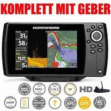 Sonda GPS plotter HUMMINBIRD completa - chirrido de hélice 7 GPS DI G2 hacia abajo de la proyección de imagen