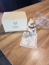 Lenox Winnie The Pooh skating Figurine