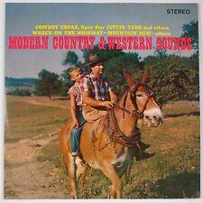 MODERN COUNTRY & WESTERN SOUNDS: Cowboy Copas, Justin Tubb VINYL LP