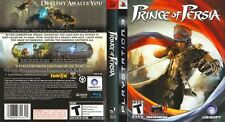Prince of Persia Sony PlayStation 3 PS3 COMPLETE CIB BLACK LABEL LikeNew CIB !