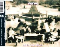 VERVE all in the mind (CD single) EX/EX HUTCD 12 psych psychedelic rock