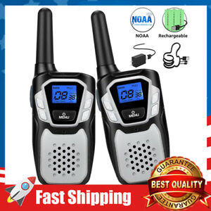 Walkie Talkies for Adult,Long Range Two Way Radio with NOAA for Hiking Camping