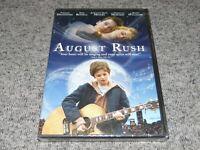 AUGUST RUSH - DVD Keri Russell Freddie Highmore Widescreen & Full Screen SEALED