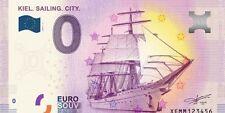 Billet Touristique Souvenir Kiel Sailing City 0 Zero Euro 2017-1 EPUISE Neuf