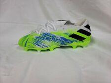 New listing Adidas Nemeziz 19.2 FG Mens Soccer Cleats, White Lime Blue, 6.5