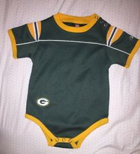 Baby NFL Reebok  Greenbay Packers Jersey One Piece Size 12 Months