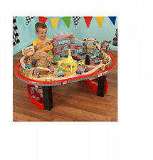 Springs Race Train Track 90-Piece Set Disney Cars Radiator and Table Thomas Play