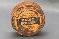 Vintage Tin - Kester Rosin-Core Radio Solder