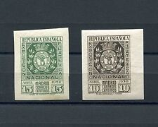 1936.ESPAÑA.EDIFIL 727/28**.NUEVOS SIN FIJASELLOS.CAT 190 €