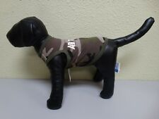 NWT Canine World Brands Puppyr Air Force Green Camo Dog Puppy Tank Clothes XS