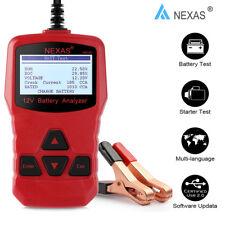 12V Car Battery Load Tester Charging Starter Analyzer 100-1000CCA AGM GEL Tool