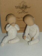 WILLOW TREE, TWO TOGETHER, TWINS. Beautiful. 2007, Very Rare, Perfect.