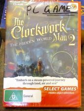 SELECT GAMES: The Clockwork Man 2 - The Hidden ..NEW -PC Game SEALED
