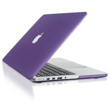 "DEEP PURPLE Rubberized Hard Case for Macbook Pro 13"" A1425 with Retina display"