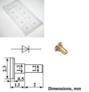 Gunn Diode GaAs Oscillator 3A715L 11...12.5GHz 250mW USSR NOS